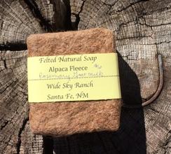 Photo of Rosemary Goat Milk Alpaca Felted Soap