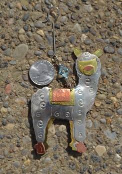 Photo of Metal Alpaca Ornament