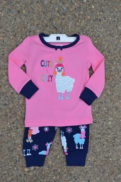 Photo of Cute & Cozy Alpaca PJ Set (Size 5)