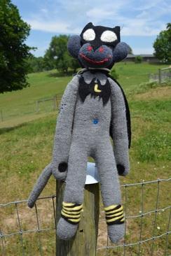Photo of Alpaca Sock Monkey: Batman