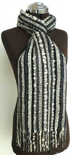 Photo of Hand Loomed Artisan Texture Scarf