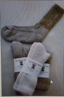 Photo of Lose Knit, Gentle Touch Alpaca Socks
