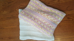 Photo of Hand-Knit Heirloom Baby Blankets