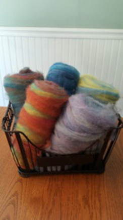 Photo of Dyed, Super Soft Alpaca Roving