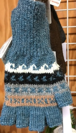 Photo of Peruvian Fingerless Alpaca Gloves