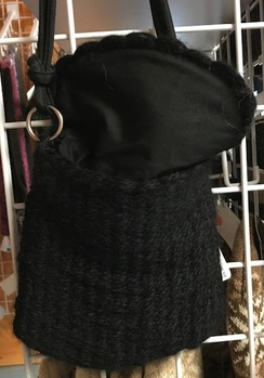 Photo of Black Alpaca Purse