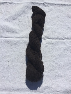 Photo of Choco Brown/Gray/Black Yarn