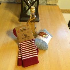 Photo of Children's Striped Alpaca Socks