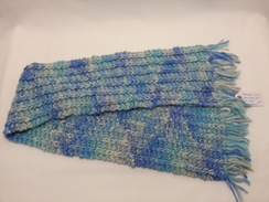 Photo of Scarf - Handmade Ridged, Mermaid