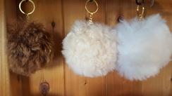 Photo of Pom-Pom Keychains