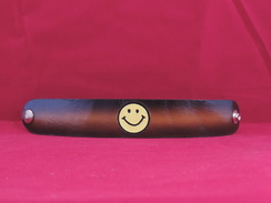 Photo of B0012 - Bracelet- Smiley Face - Brown