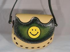 Photo of P02Purse - Smiley Face - Yellow/Green
