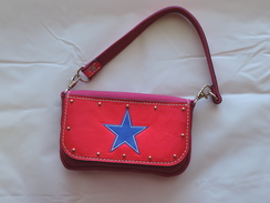 Photo of P27 - Purse - Pink with Blue Star