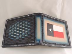 Photo of WB03 - Wallet - Bi fold - Texas Flag