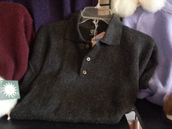 Photo of Sweater - Men's Alpaca Polo Sweater