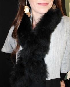 Photo of 100% Alpaca Fur Scarf