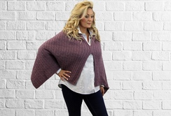 Photo of Soft & Flirty Versatile Alpaca Poncho