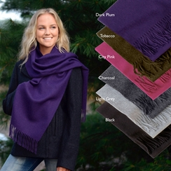 Photo of RR464 Brushed Solid Scarf