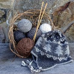 Photo of DK #3 Soft, undyed, domestic Alpaca yarn