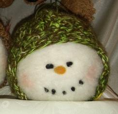 New Alpaca Snowmen Ornaments