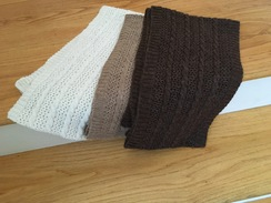 Photo of Cable & Lace scarf