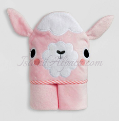 Photo of Terry Cotton Alpaca Towel for Baby