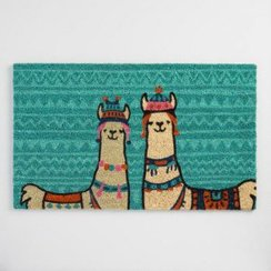Photo of Alpaca-Llama Welcome Doormat