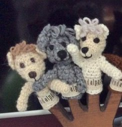 Photo of 100% Alpaca Finger Puppets