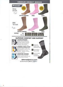 Photo of Prevail OTC 12 inch socks