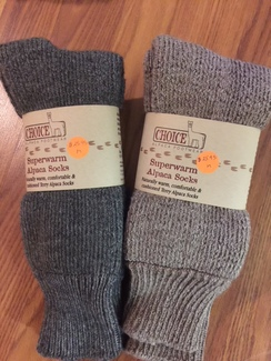 Photo of CA SuperWarm Alpaca Socks