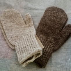 Photo of Kids Alpaca Mittens