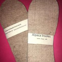 Photo of Farm Grown Alpaca Shoe Insoles