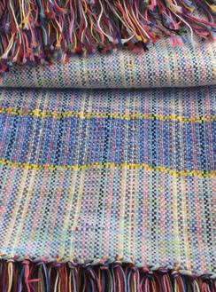 Photo of Hand woven baby blanket/lap throw