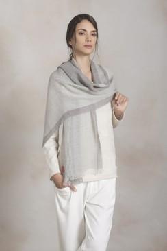 "Photo of Kuna ""Pesca"" shawl"