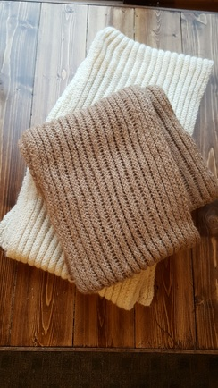 Photo of Chunky Rib Scarf