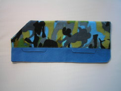 Photo of Sports Camo Multi Color on Blue - Small