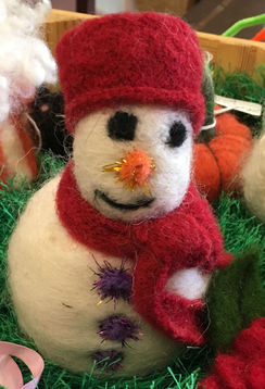 Photo of Register: Needle Felt a Snowman