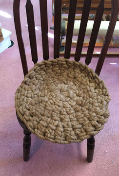 Photo of Registration: Crochet Chair pad by hand