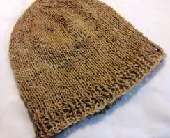 Photo of Alpaca Hat Natural Beige