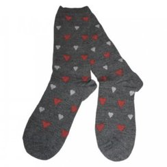 Photo of UNISEX Alpaca Sock with Hearts!
