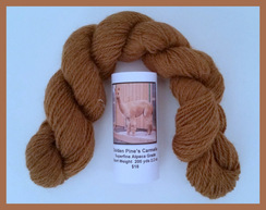 Photo of Alpaca Yarn Med.Fawn 200 Yds. Sport Wt.