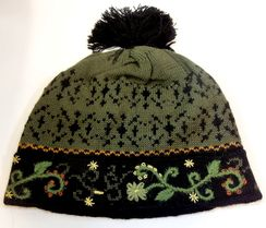 "Photo of ""Fern"" Alpaca Lined Hat"