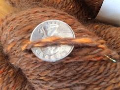 Photo of Yarn-alpaca, merino, and mylar sparkles