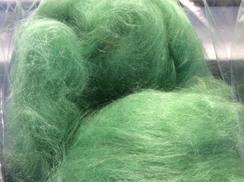 Photo of Alpaca Roving Spring Green
