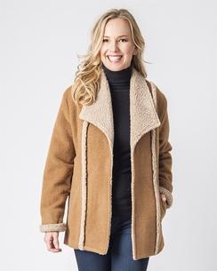 Photo of Alpine Ladies Alpaca Coat