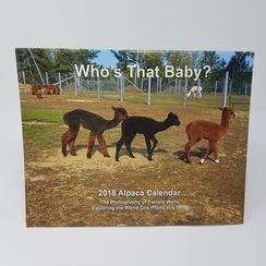 Photo of 2018 Alpaca Calendar