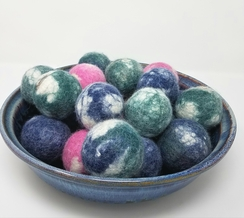 Photo of Felted Dryer Balls