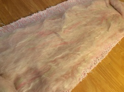 Photo of Alpaca Batts ~ Fusion ~ Pink White Batt