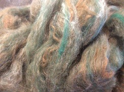 Photo of Alpaca Roving, Alpaca Hand Pulled Roving