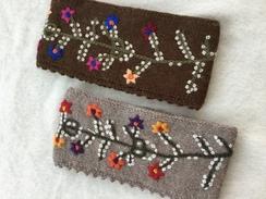 Photo of Embroidered Alpaca Headband